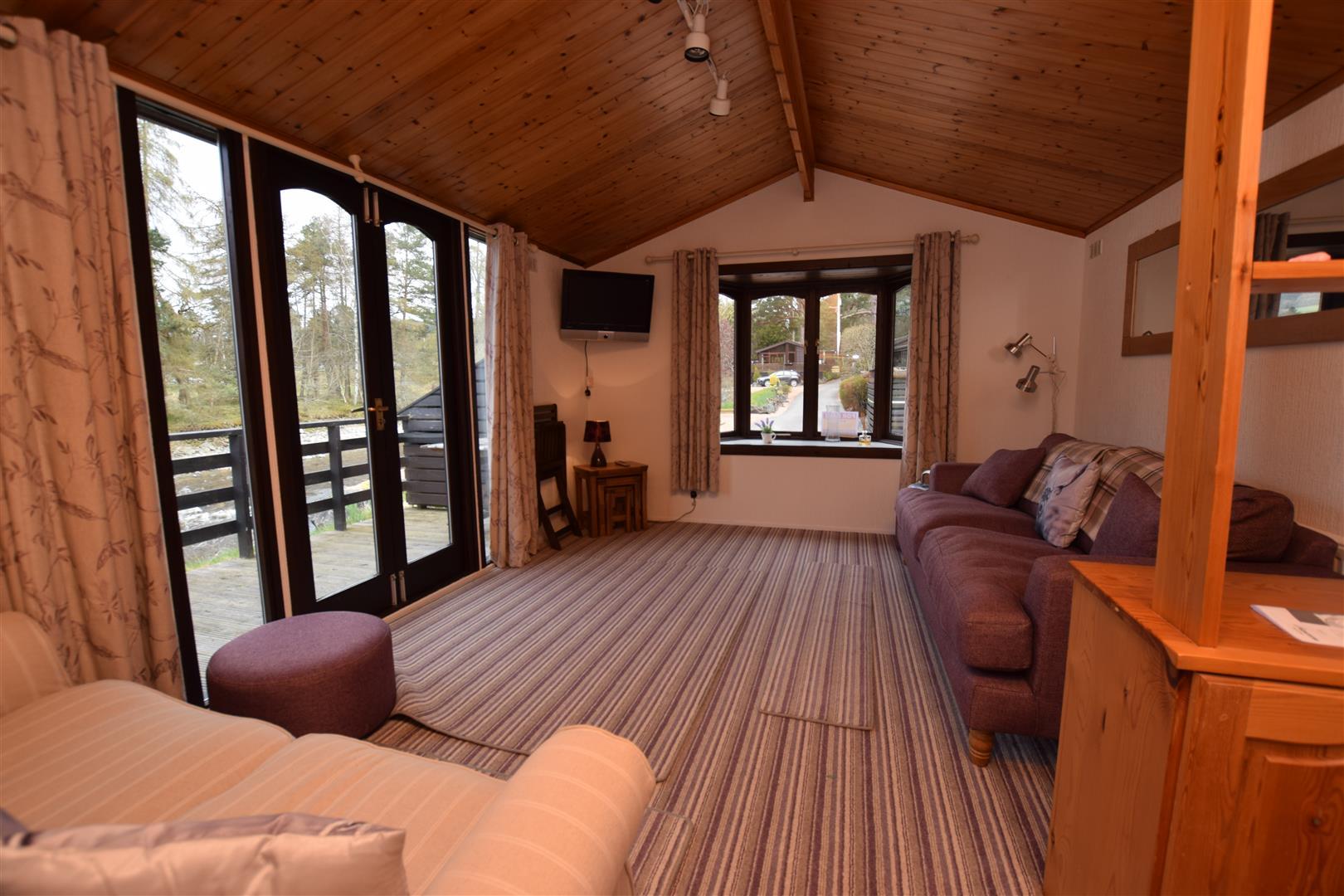Otter Lodge, Lodge 16, River Tilt Leisure Park, Blair Atholl, Perthshire, PH18 5TE, UK